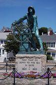 Fishermen'S Memorial In Gloucester, Ma