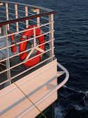 Cruise Ship Railing