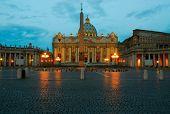 Vaticano At Dawn