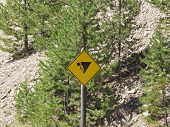 Falling Rock Zone - Yellowstone Park