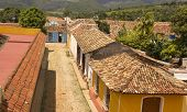 Typical Colonial Street, Trinidad, Cuba