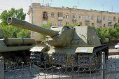 Reservation - Tank Technics. Heavy Self-Propelled Installation.