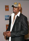 LOS ANGELES - FEB 12: Dennis Rodman at the 'A Tribute to Magic Johnson - The official tip-off to NBA