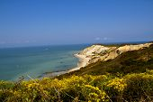 stock photo of martha  - Photo of ocean on Marthas vineyard - JPG