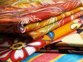 Bedruckte Textilien