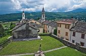 Compiano. Emilia-Romagna. Italy.