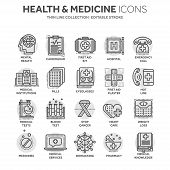 Health Care, Medicine. First Aid. Medical Blood Tests And Diagnostic. Heart Cardiogram. Pills And Dr poster
