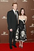 LOS ANGELES - FEB 19: Kevin McKidd and wife Jane at the 10th Annual Costume Designers Guild Awards h