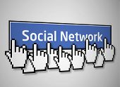 Social network button 2