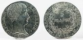 1813, France 1st Empire, Napoleon I. Large Silver 5 Francs Coin. poster