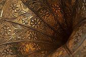 Gramophone Horn Closeup