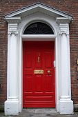 Red Dublin Door