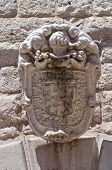 Bonelli coat of arms. Barletta. Puglia. Italy.