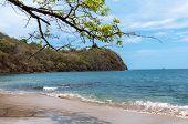 picture of papagayo  - papagayo gulf coast line of Costa Rica - JPG