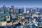 Downtown Osaka, Japan Landkreis Umeda