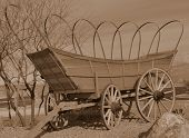 Conestoga Covered Wagon