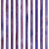 Watercolor Purple Stripes On White Background. Colorful And White Striped Seamless Pattern. Watercol poster