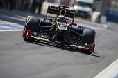 VALENCIA, SPAIN - JUNE 23: Kimi Raikkonen in the Formula 1 Grand Prix of Europe, Valencia Street Cir