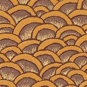 Natural pastel made seamless pattern