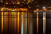 picture of dnepropetrovsk  - Night city - JPG