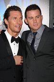 LOS ANGELES - JUN 24:  Matthew McConaughey, Channing Tatum arrives at the