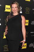 LOS ANGELES - JUN 23:  Jennifer Gareis arrives at the 2012 Daytime Emmy Awards at Beverly Hilton Hot