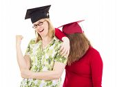 Two Female Graduates