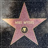 Mike Myers Stern am Hollywood Walk Of Fame