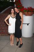 LOS ANGELES - APR 4:  Finola Hughes, Michelle Stafford attends the gala fundraiser for the romantic comedy,
