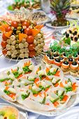 foto of buffet catering  - Catering buffet style  - JPG
