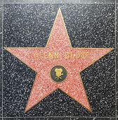 Glenn Closes Star On Hollywood Walk Of Fame