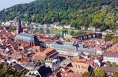 Top View Of The Heidelberg,germany