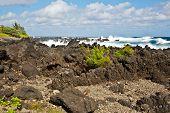 Crashing Waves at Ke'anae Beach Park