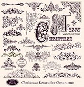 Vector set of Ornaments and Decorative Elements