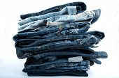 Jeans Pile