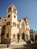 Old Church At Agios Nikolaos Crete Island