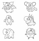 picture of tapir  - Some cartoon animals  - JPG