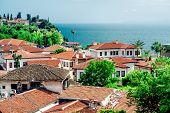 View Of Antalya City. Antalya Is Biggest International Sea Resort In Turkey.