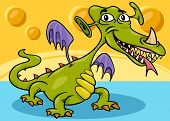 Monster Or Dragon Cartoon