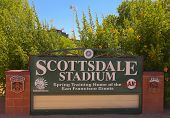 A Scottsdale Stadium Shot, Scottsdale, Arizona