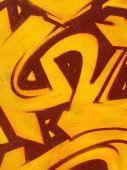 Graffiti naranja