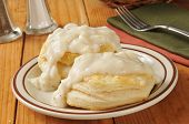 Biscuits With Pepper Gravy