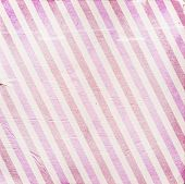 Vintage Pink Diagonal Striped Paper Background