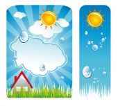 Weather Delicate Backgrounds poster