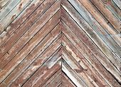 stock photo of wainscoting  - a wooden texture great as a background - JPG