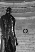 foto of thomas  - Thomas Jefferson Memorial in Washington DC - JPG
