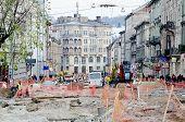 Repair Street Gorodockaya In Lvov