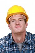 Contented tradesman
