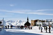 Ski resort in Austria