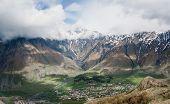 View of Stepantsminda ( Kazbegi ) village